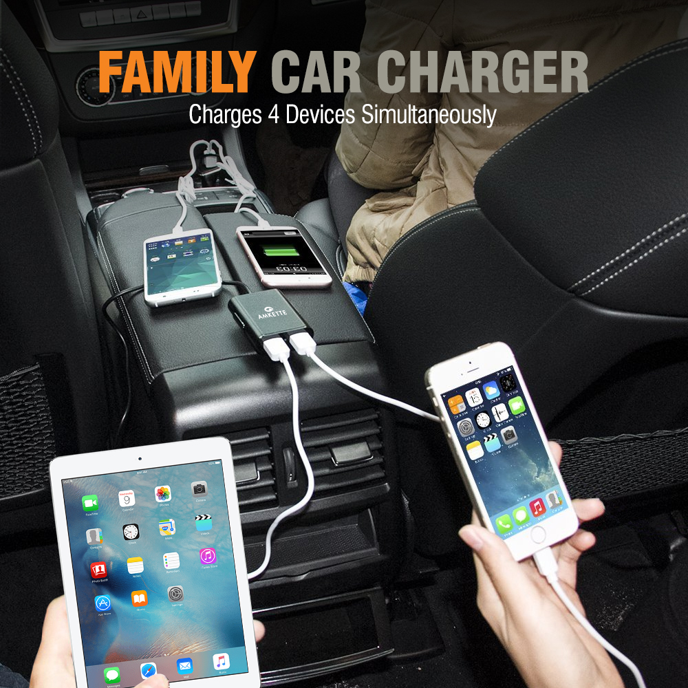amkette car charger