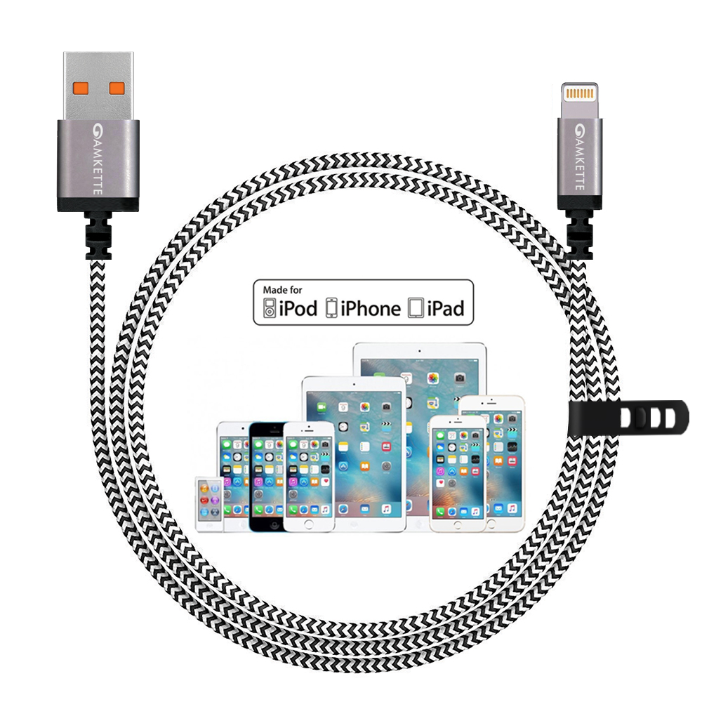 Amkette Apple Certified Mfi Cable Lighting Diagram Iphone
