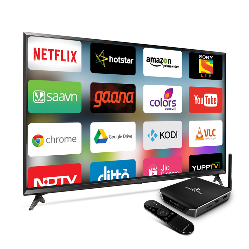 Evo TV 3 | Streaming Media Player | Amkette com