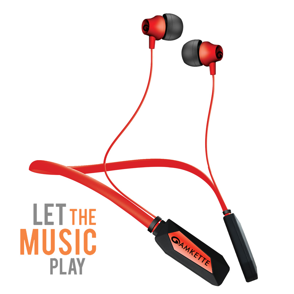 Trubeats Urban Wireless Bluetooth Earphones Headset Magnet Sport Super Bass Fitness Amkette