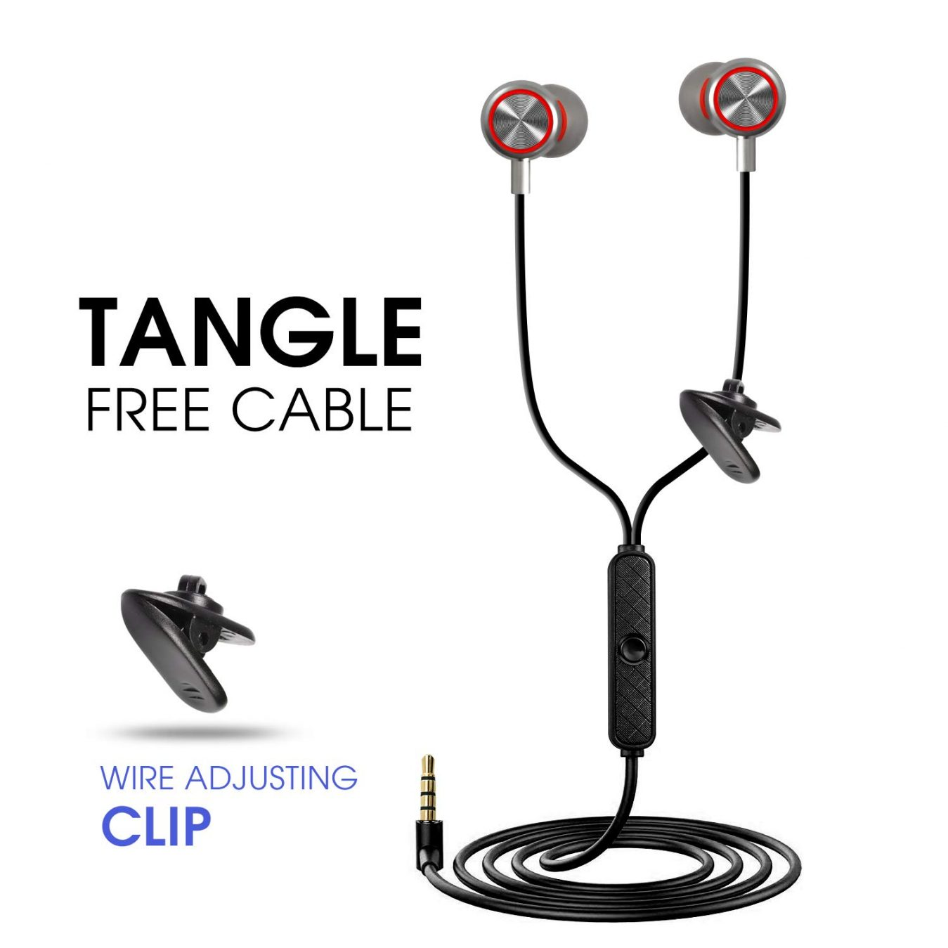 tangle free cable