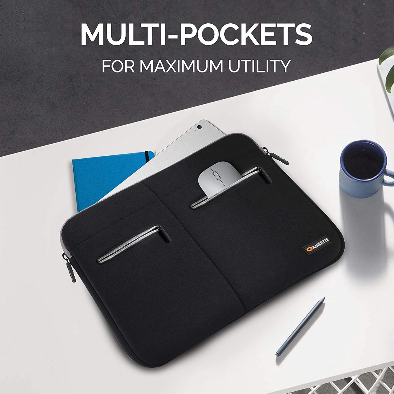 multi pocket bag