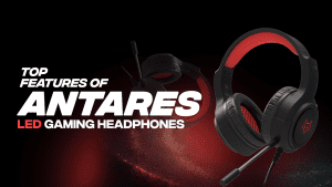 Top features of Antares LED Gaming Headphones