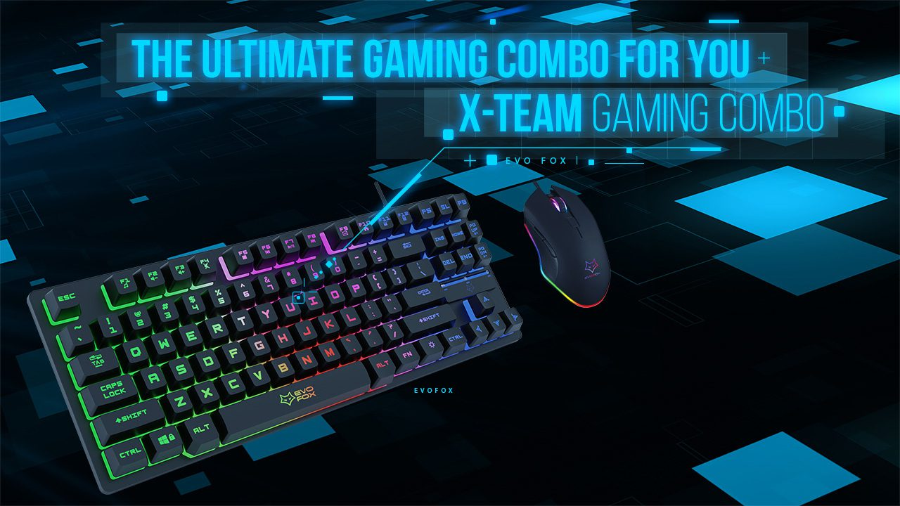 Your Ultimate gaming combo X team combo